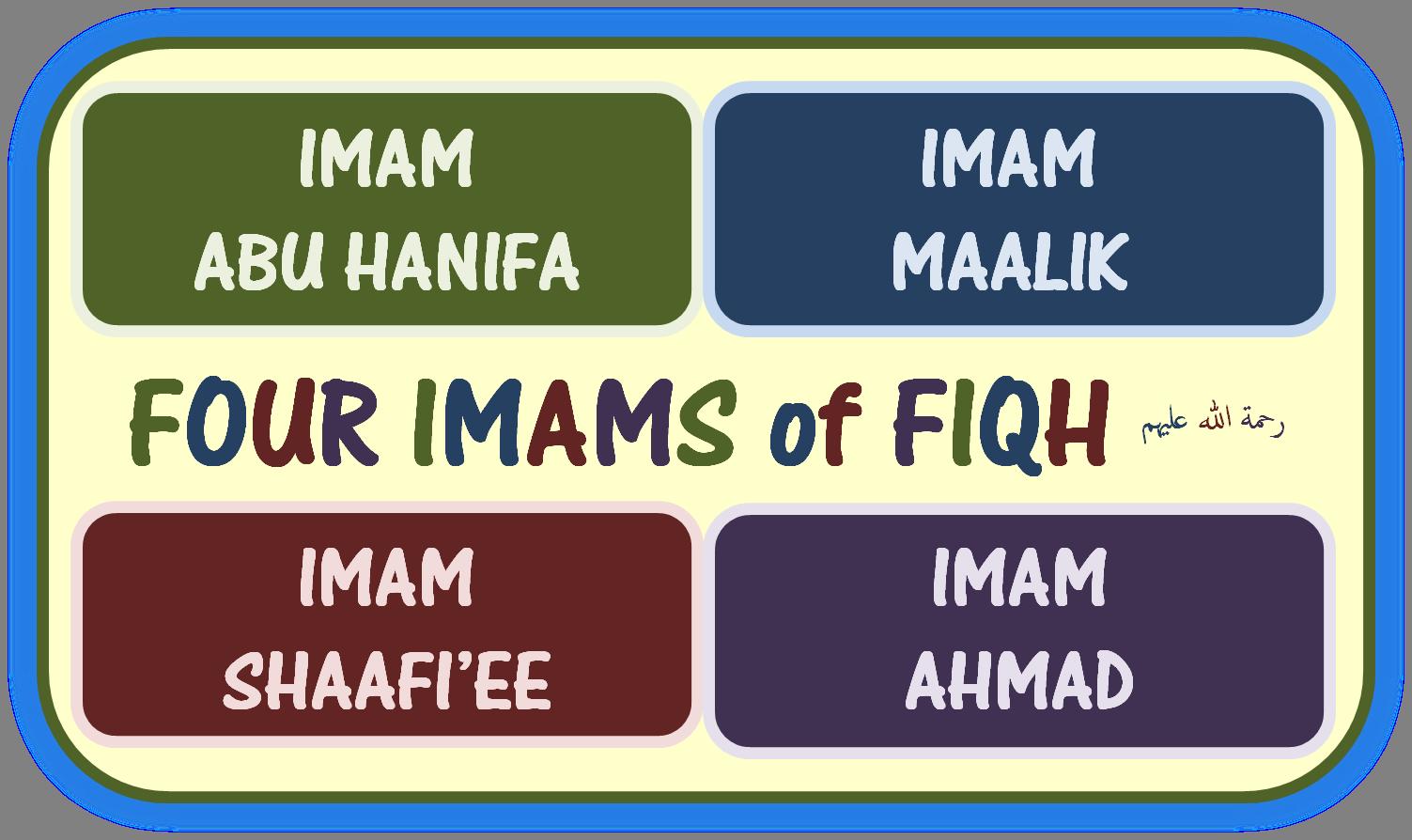 Imam 4 Madzhab. Foto: insider.pk