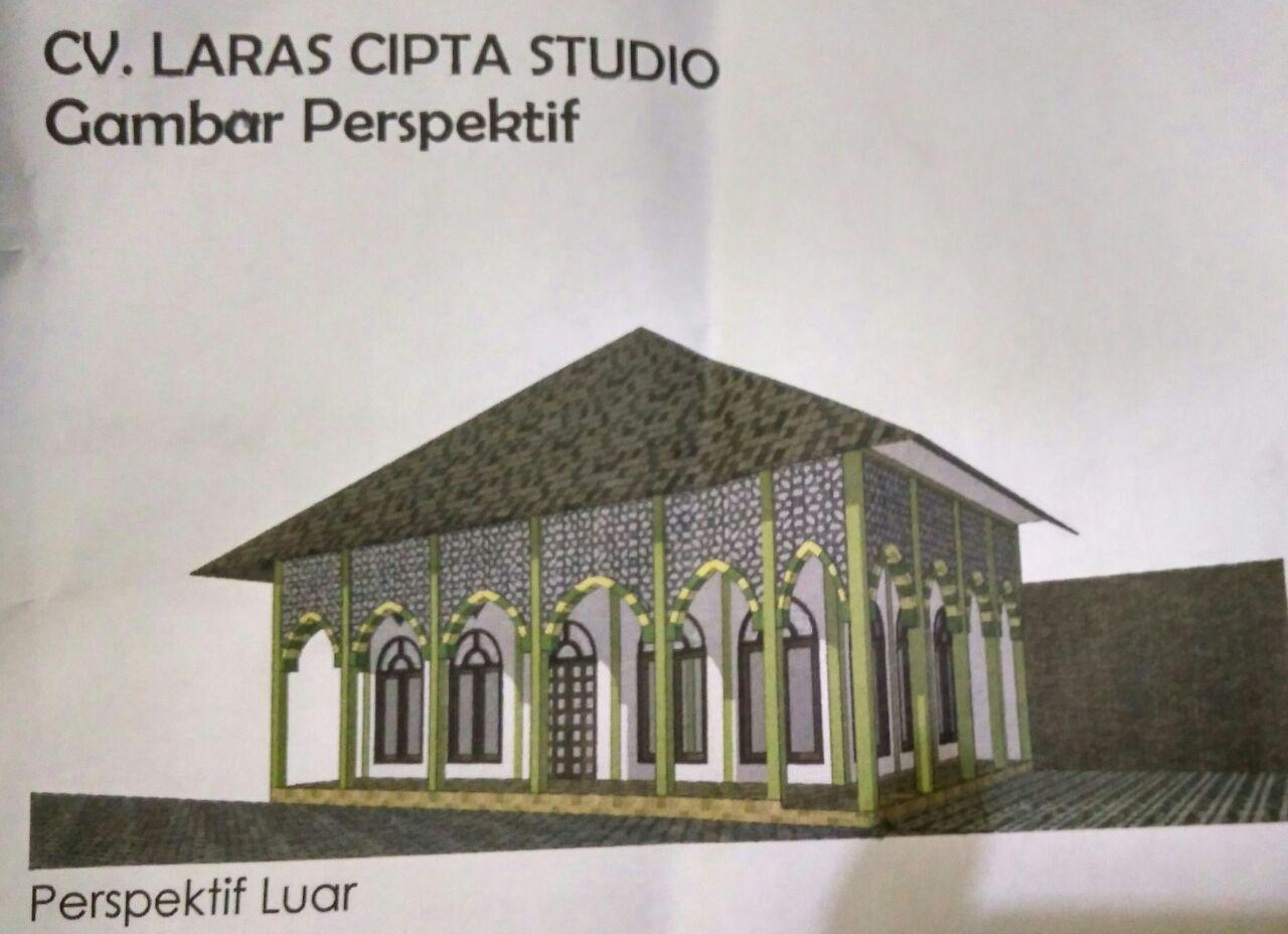 Bantuan Pembangunan Musholla/ Aula Pondok Pesantren Riyadhul Jannah Surakarta