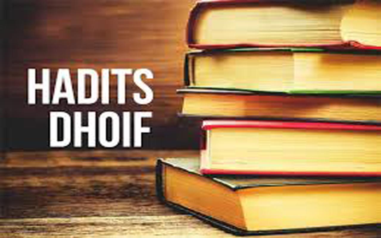 Contoh Hadits Dhaif Mursal 57