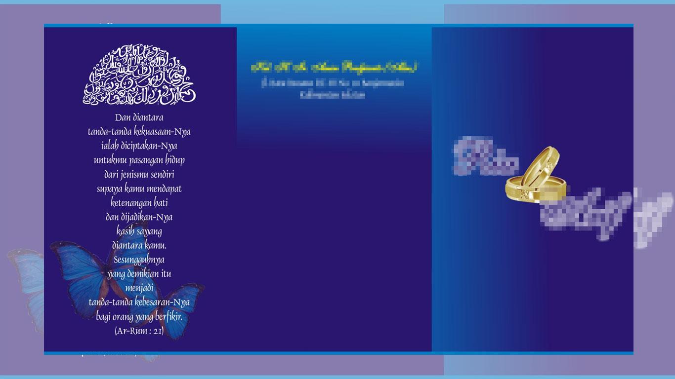 Hukum Undangan Bertuliskan Al Qur'an