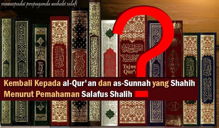 Kembali Kepada Al-Quran dan As-Sunnah yang Shahih Menurut Pemahaman Salafus Shalih?. Foto: Ngaji Yuk - elhooda.net.
