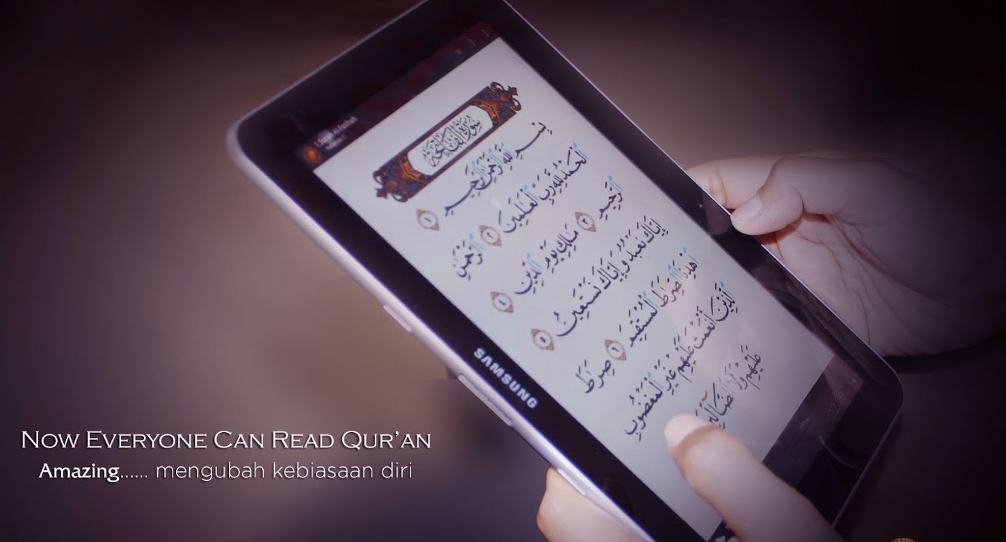 Aplikasi Qur'an Handphone