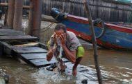 Bagaimana Hukum Bersuci Dengan Air Sungai Yang Keruh