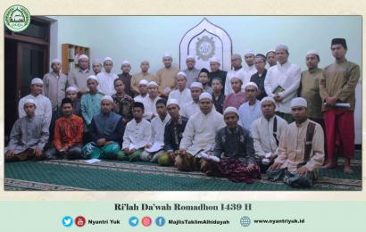 Program Rihlah Dakwah Romadhon 27 Wilayah Solo Raya