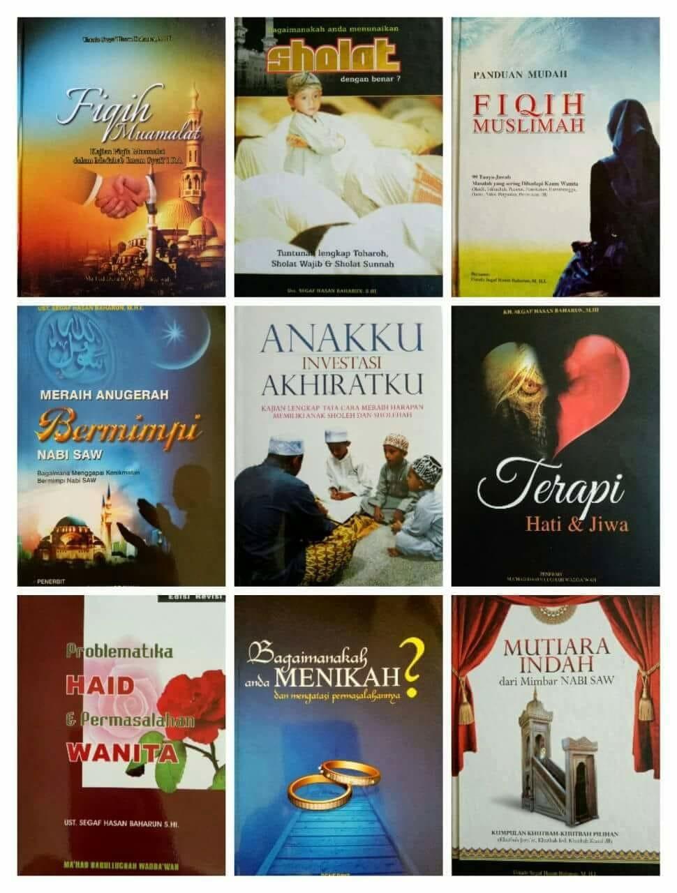 Buku dan Kitab di Toko Ma'had Solo