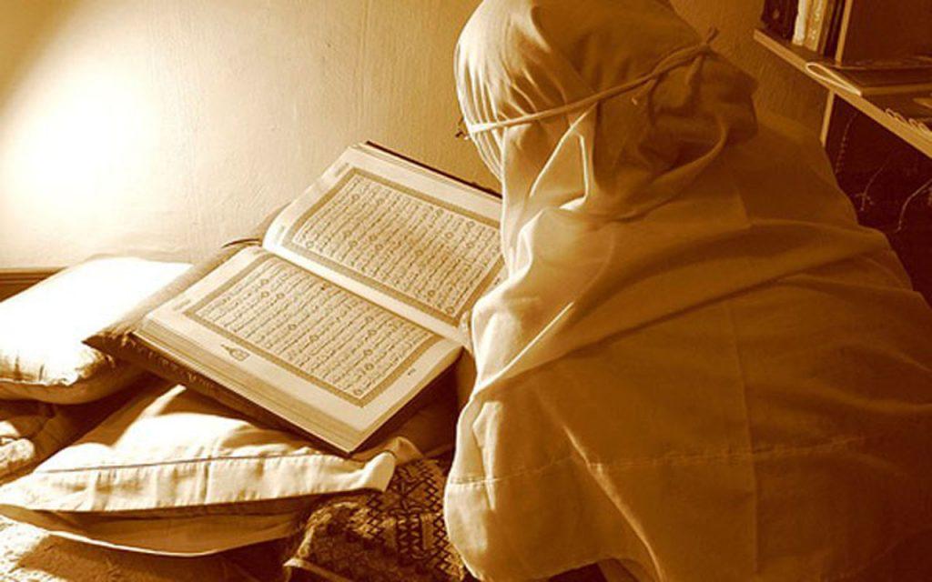 wanita dalam keadaan haid baca al qur'an