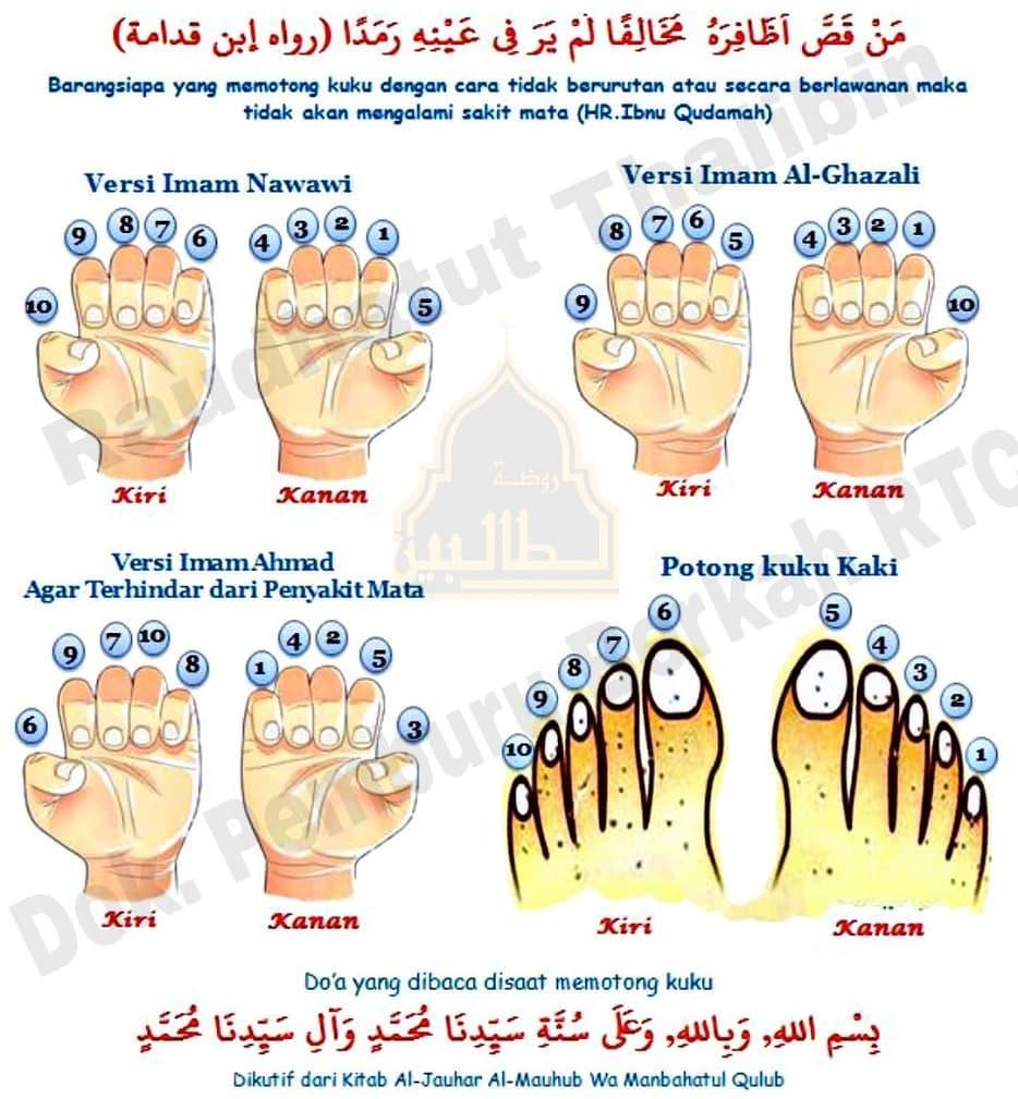 Cara Memotong Kuku Menurut Sunnah Nabi dan Faedahnya