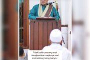 MP3 Khutbah Idul Fitri 1440 H Sayyid Alwi bin Ali Alhabsyi di Masjid Al Khoir Surakarta